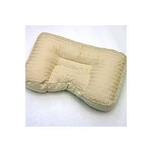 横向きに寝やすいパイプ枕 プロ・トレーナーが推薦 約30x50x10cm 専用カバー付|mitibata