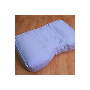 上向きに寝やすいパイプ枕 プロ・トレーナーが推薦 約30x50x12cm 専用カバー付|mitibata
