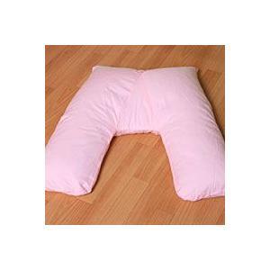楽々V字まくら 枕カバー付き 横向き・うつ伏せ寝もOK|mitibata