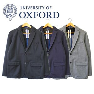 University of Oxford テーラードジャケット アウター  ポンチ ネイビー ブラック グレー 無地 メンズ カジュアル シンプル|mitoman