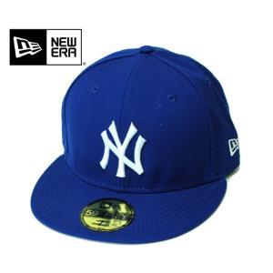 NEWERA ニューエラ NY YANKEES ニューヨーク ヤンキース 59FIFTY MLB CAP ベースボール 定番 キャップ メジャーリーグ ライトロイヤル×ホワイト mitoman