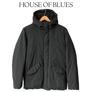 ダウン アウター メンズ House Of Blues ハウスオブブルース 男性 ジャケット 冬 防寒 シンプル 無地 軽い フェザー 人気 ブランド 1823081|mitoman