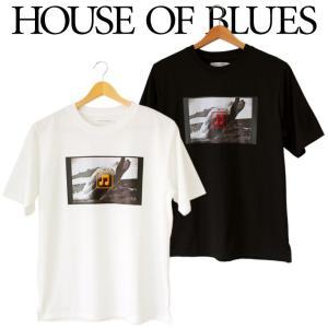HOUSE OF BLUES ハウスオブブルース メンズ 半袖 Tシャツ|mitoman