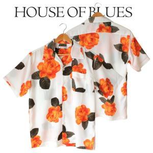 House Of Blues ハウスオブブルース メンズ 男性 半袖 オープンカラーシャツ|mitoman