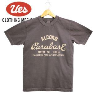 メンズ  ALCORN Tシャツ アメカジ オーガニック シンプル 半袖 made in JAPAN 日本製|mitoman