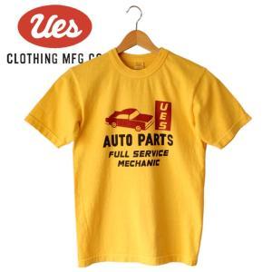 メンズ AUTO PARTS Tシャツ アメカジ オーガニック シンプル 半袖 made in JAPAN 日本製|mitoman
