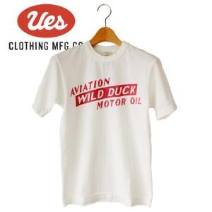 メンズ WILD DUCK Tシャツ アメカジ オーガニック シンプル 半袖 made in JAPAN 日本製|mitoman