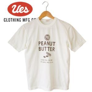 メンズ PEANUT BUTTER Tシャツ アメカジ オーガニックコットン シンプル 半袖 made in JAPAN 日本製|mitoman