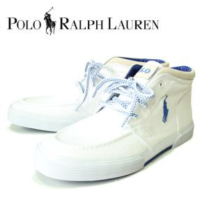 Polo by RalphLauren ラルフローレン FEDERICO SK VLC RIPSTOP キャンバスハイカットスニーカー 日本未発売海外限定 816546338002|mitoman