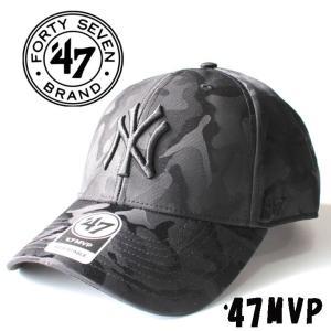 ローキャップ YANKEES JIGSAW '47 MVP ブラック メンズ レディース  ニューヨーク ヤンキース 47brand フォーティセブン  スナップバック 刺繍|mitoman