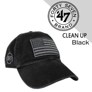 47 Brand フォーティセブン ローキャップ ブランド 帽子 メンズ レディース 刺繍 星条旗 アメカジ ストリート コラボ 限定 ブラック 黒 SNAPBACK スナップバック mitoman