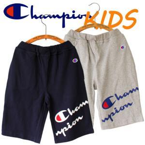 Champion チャンピオン kids キッズ 子供服 ハーフパンツ 半ズボン ロゴ|mitoman