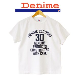 DENIME ドゥニーム DENIME TEE 30TH CLOTHING 半袖 Tシャツ|mitoman