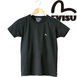 EVISU エヴィス S/S Tee ワンポイント 刺繍  半袖Tシャツ カモメ アメカジ 山根 限定生産 ETC-0653KV|mitoman