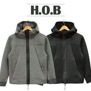 ジャケット ジップアップ メンズ H.O.B エイチオービー 男性 無地 シンプル ウェットスーツ風 止水ジップ 人気 ブランド H2-174050 mitoman