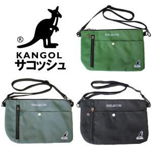 kangol カンゴール サコッシュ ショルダー バッグ カバン 鞄 メンズ レディース シンプル カジュアル 軽量 軽い 人気 ブランド おしゃれ 斜め掛け|mitoman