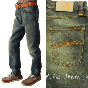 Nudie Jeans ヌーディージーンズ SHARP BENGT シャープベン 069 ORG.ROUGH FRIEND 37161-1170 ジーンズ デニム メンズ ボトムス|mitoman