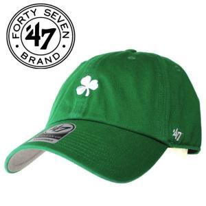47 Brand Irish Base Runner '47 CLEAN UP Kelly キャップ CAP 三つ葉 クローバー MLB メジャーリーグ  ロゴ 刺繍 SNAPBACK スナップバック mitoman