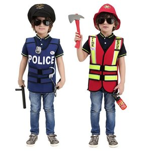 送料無料 ハロウィン 衣装 子供用 警察服 おまわりさん かっこいい 男の子 ポリス服 コスチューム...
