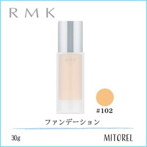 アールエムケー RMKジェルクリーミィファンデーション SPF24/PA++30g #102 mitorel
