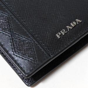 f8e50df67193 ... プラダ メンズ財布 ブラック サフィアーノ・ロンビ 2MO738_ZNA_F0002 PRADA|mitoyo| ...