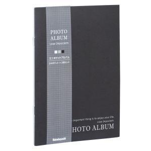 ナカバヤシ ア-PAL-102-3P ミニポケットアルバム24枚 3P Lサイズ モノトーン mitsu-boshi-camera
