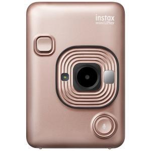 フジフィルム ハイブリッドインスタントカメラ instax mini LiPlay BLUSH GOLD(ブラッシュゴールド)|mitsu-boshi-camera