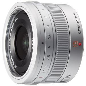 パナソニック LEICA DG SUMMILUX 15mm/F1.7 ASPH.(H-X015)シル...