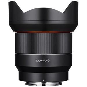 「AF14mm F2.8 FE」レンズは、レンズとセンサーの間隔が近いミラーレスカメラの特性を活かし...