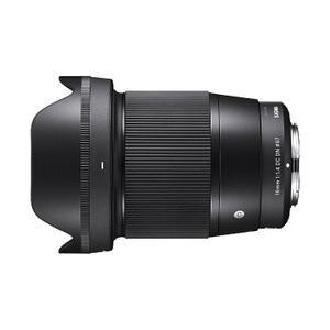 シグマ 16mm F1.4 DC DN  Contemporary マイクロフォーサーズ用 3年延長...