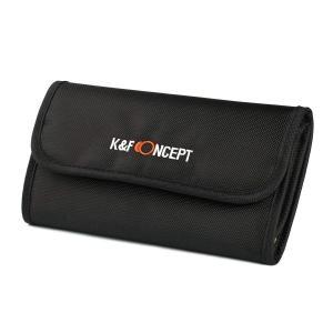 K&F CONCEPT KF-6LPC フィルターケース 6枚用(77mm径まで)ゆうパケット発送商品|mitsu-boshi-camera