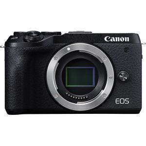 キヤノン Canon EOS M6 Mark II ボディ ブラック 3年間保険付 ※キャンペ−ン対...