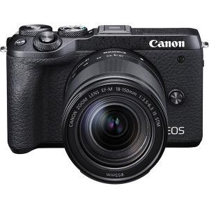 キヤノン Canon EOS M6 Mark II EF-M18-150 IS STM レンズキット...