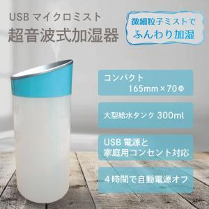 USB ミスト加湿器 卓上 コンパクト 小型 卓上 代引不可 mitsuami-shop