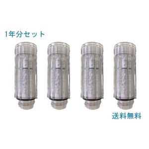 サイエンス ミラブル ウルトラファインミスト シャワーヘッド用 トネードスティック (塩素除去カートリッジ)|mitsuami-shop