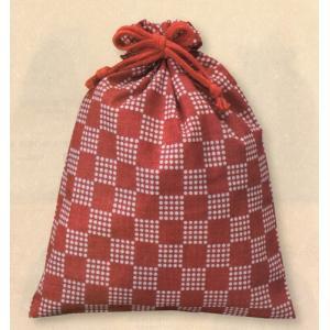 市松柄巾着【お得なケース買い・単色で500枚売り】和柄【送料無料】 mitsuami-shop