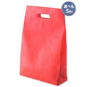 不織布小判抜きマチ付バッグ【お得なケース買い・単色で200枚売り】【送料無料】 mitsuami-shop