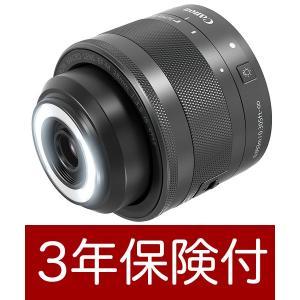 Canon EF-M28mm F3.5 マクロ IS STM APS-Cミラーレス一眼用ライト付マク...