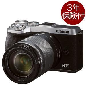 キヤノン EOS M6 Mark II (シルバー)・EF-M18-150 IS STMレンズキット シルバー色 EF-M18-150mm F3.5-6.3 IS STM高倍率標準ズームキット|mitsuba