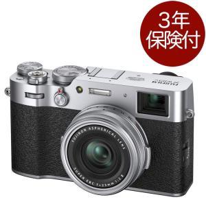 Fujifilm X100V Silver デジタルカメラ シルバー アドバンスト・ハイブリッドビュ...