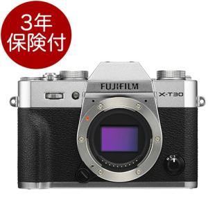 """※小型・軽量「フジフィルム X-T30」シルバーボディセット。 ※撮影には<a href=""""h..."""