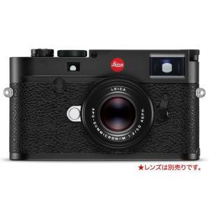 ・最もスリムなM型デジタルカメラ「ライカM10」。トップカバーの奥行がわずか33.75mmと、M型フ...