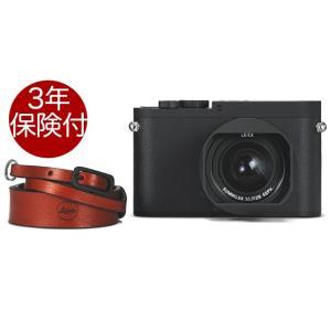 ・「ライカQ-P」は、本体正面に赤いロゴを入れずに、トップカバーの上面にクラシックな「Leica」の...