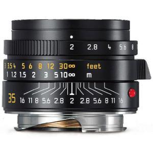 ・明るい単焦点レンズのライカ ズミクロン-M f2/35mm ASPH.ブラックは11879Cの後継...