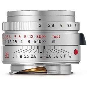 ・明るい単焦点レンズのライカ ズミクロン-M f2/35mm ASPH.シルバーは11882Cの後継...