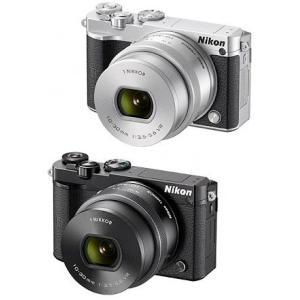 Nikon1 J5 標準パワーズームレンズキット『納期2週間程度』[8GB microSDHC& カメラバッグ付]