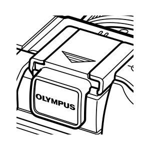 OLYMPUS E-P2/E-P3/E-PL1/E-PL2用ホットシューカバー『4〜5営業日後の発送予定』黒:VN239700/シルバー:WC348300/白:VR072300|mitsuba