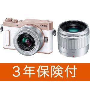・GF10 ホワイト(ピンク)色本体 ・LUMIX G VARIO 12-32mm / F3.5-5...