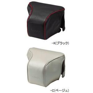 パナソニック DMW-CGL2本革レンズジャケット Lumix GF1+14-45mmレンズ用カメラケースの上カバーのみ『3~5営業日後の発送』|mitsuba