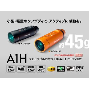 Panasonic ウェアラブルカメラ HX-A1H『即納〜3営業日後の発送予定』